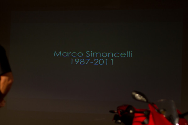 Motorcyclist of the Year Marco Simoncelli